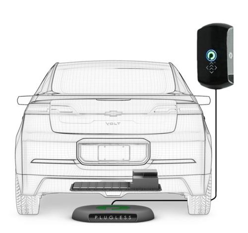特斯拉Model S也可以无线充电了-唯轮网