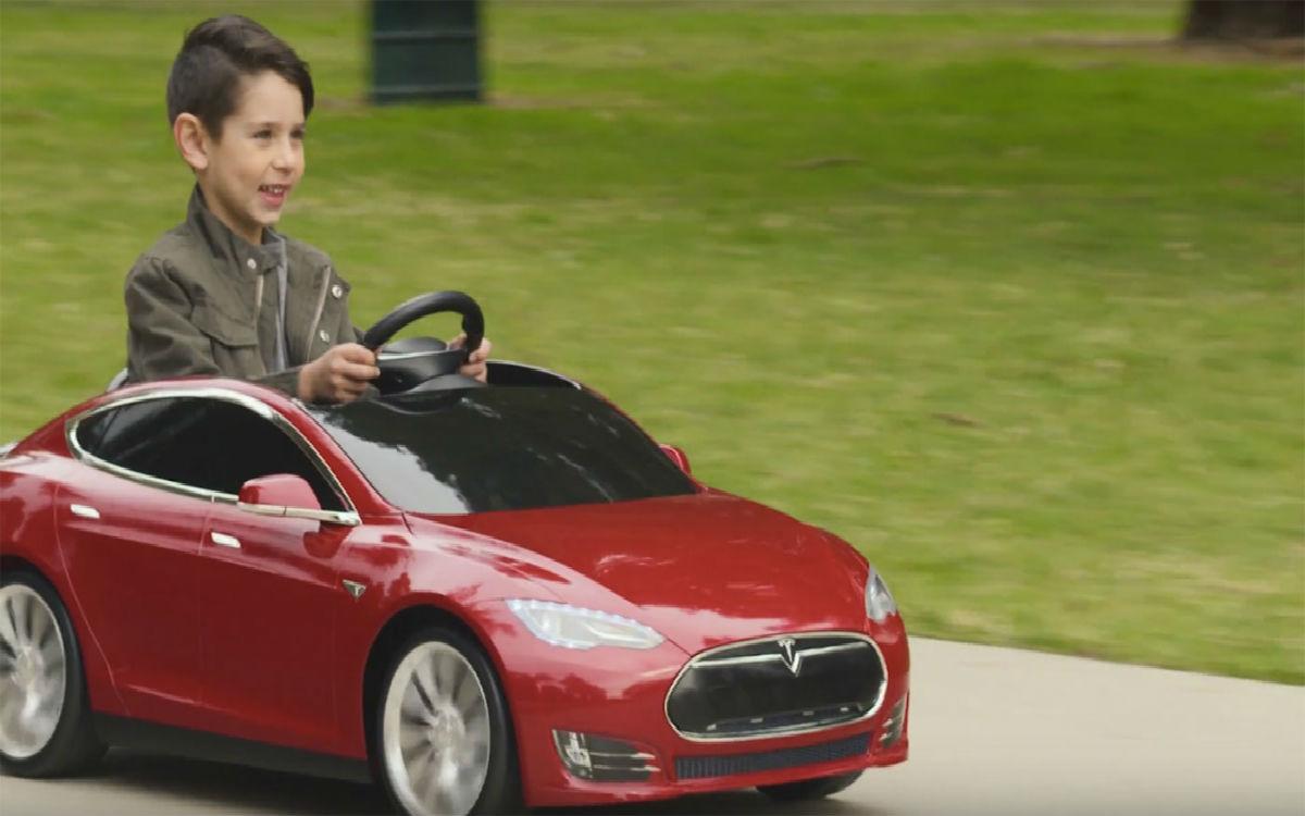 也许你的孩子会比你提前开上特斯拉 Model S
