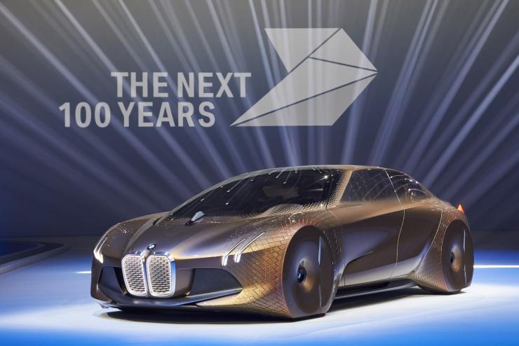 成立100周年,宝马推出了一款能代表未来的概念车