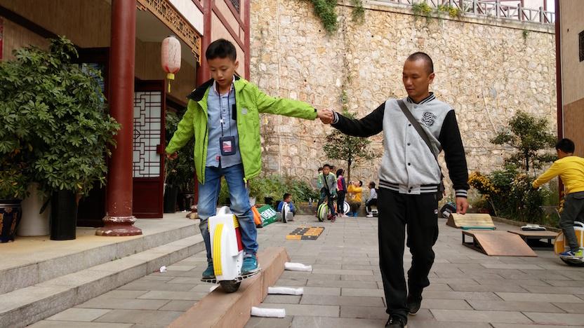 爱轮俱乐部郭长青:我为什么把平衡车卖给小孩子-唯轮网