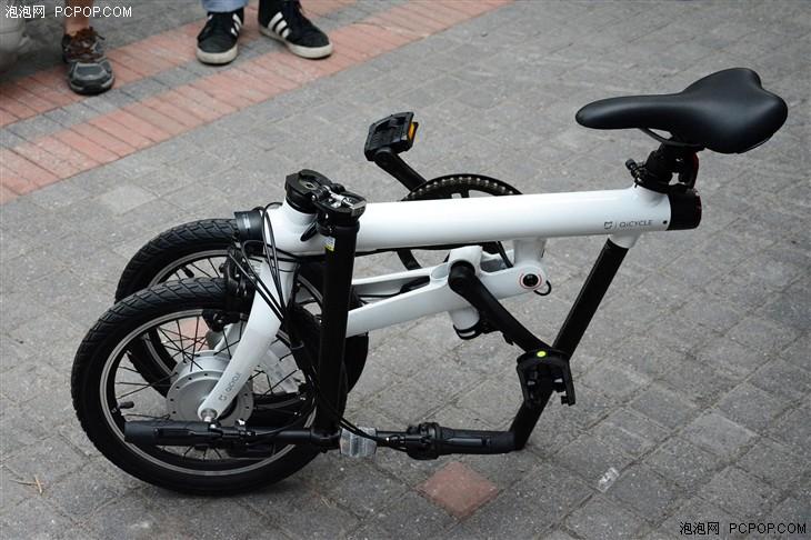 米家电助力折叠自行车体验:爬坡不费力-唯轮网