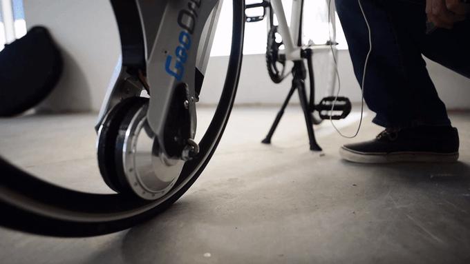 GeoOrbital Wheel 它从新定义了自行车-骑行者-唯轮网