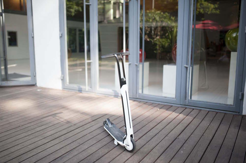 【创业】不一样的玩法,设计感饱满的电动滑板车Citygo-唯轮网