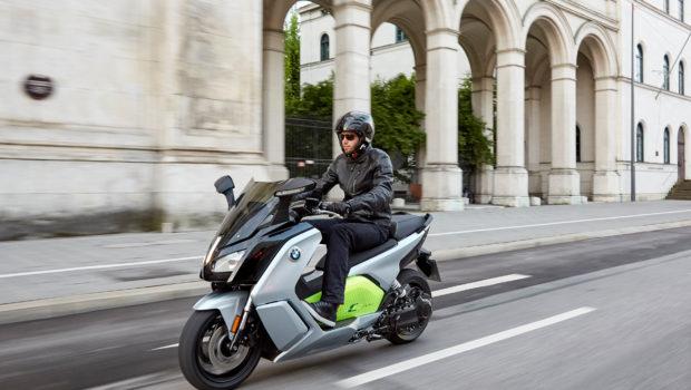 逼格战斗机,宝马牌电动摩托车C Evolution-唯轮网