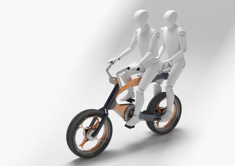 这是大师设计的电动自行车,看着辣眼睛-唯轮网