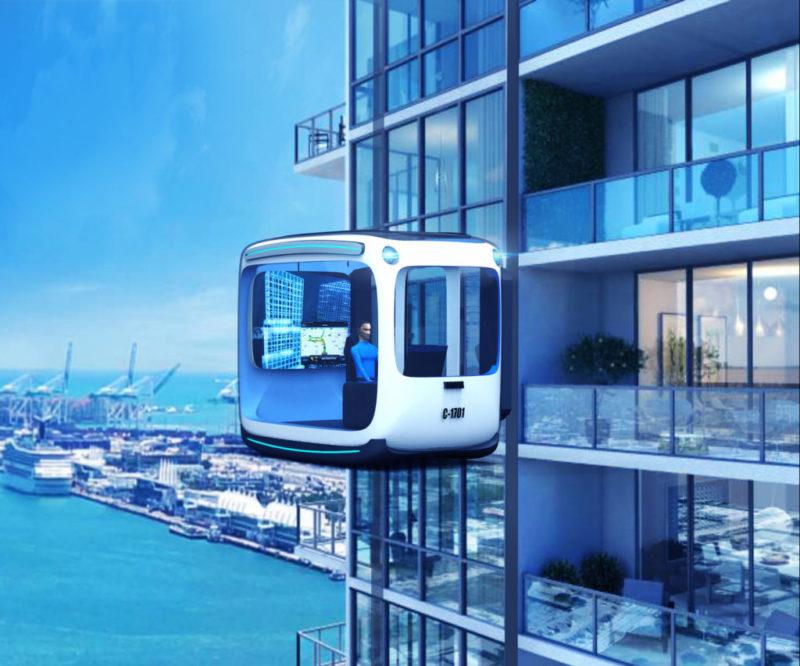忘记无人驾驶吧,能行驶在高楼上的车才是未来-唯轮网