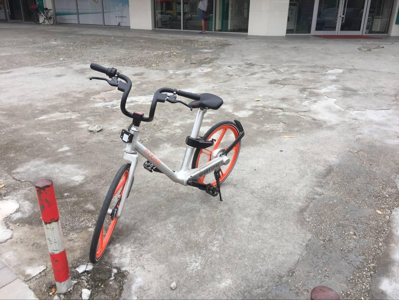"""摩拜自行车初体验:一款不错的""""共享""""代步减肥工具-唯轮网"""