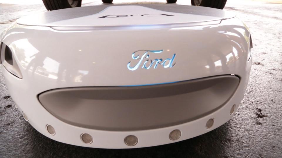汽车巨头福特研发的短途代步车,解决最后一公里。-唯轮网