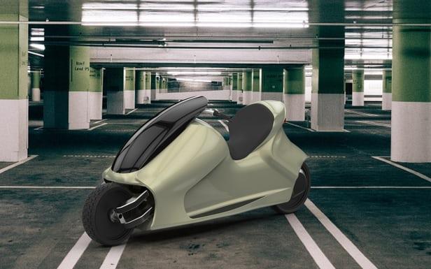 这台可以自平衡的电动摩托车貌似要量产了,不过工程车好丑啊-唯轮网