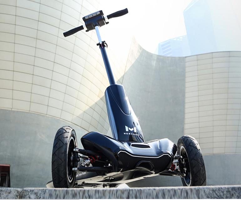 这款3轮滑板车拥有汽车一般的悬挂,在国外众筹超过3亿?-唯轮网