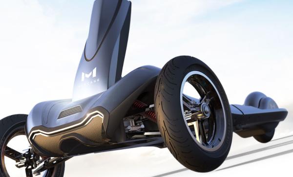 这款3轮滑板车拥有汽车一般的悬挂,在国外众筹超过3亿?