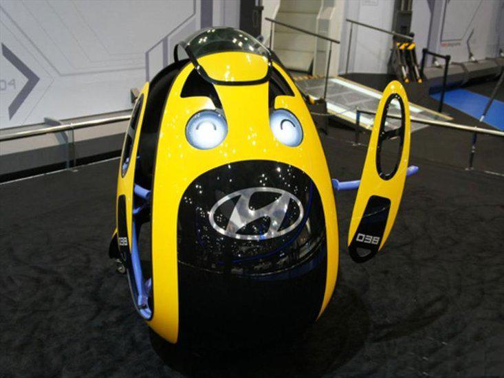 玩蛋去!现代汽车公司推出蛋型的代步车。-唯轮网