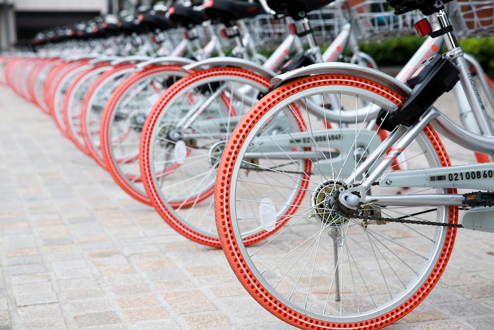 共享单车已用上,这种防爆轮胎会是未来吗?-唯轮网
