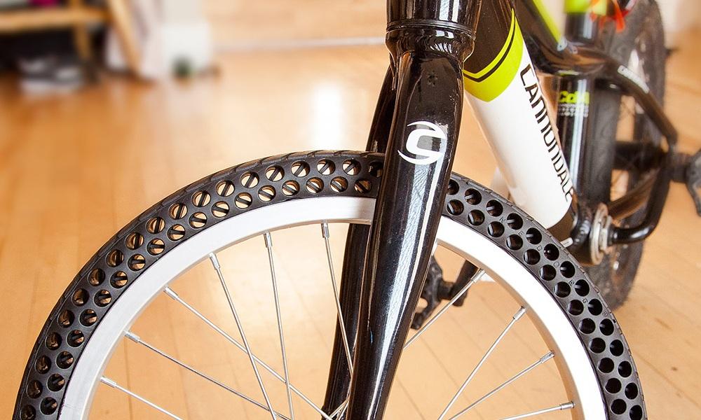 共享单车已用上,这种防爆轮胎会是未来吗?