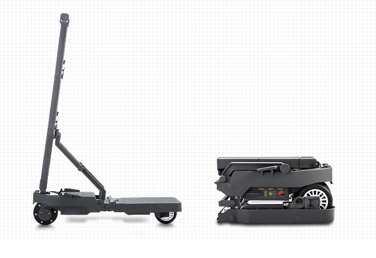 如何把一台电动滑板车折成一张A4纸大小?-唯轮网