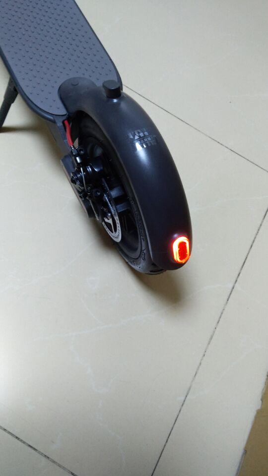 唯轮网广州玩家晒图,小米米家电动滑板车开箱-唯轮网