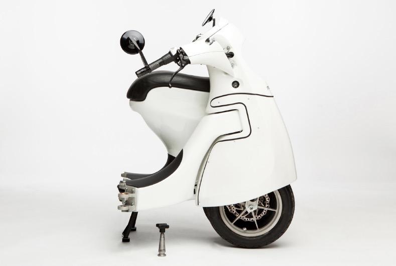 折叠滑板车算什么,这家公司把摩托车也做成折叠的-唯轮网