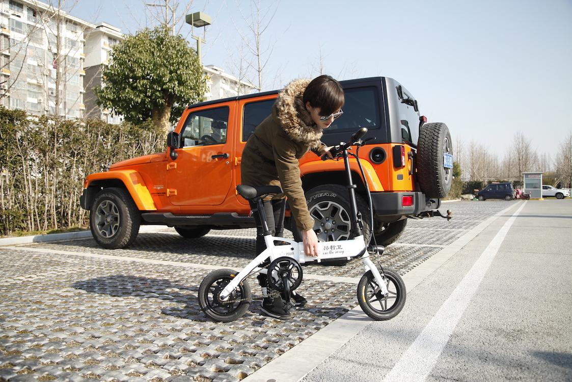 3天众筹破百万,这款折叠电动自行车有什么特点?-唯轮网