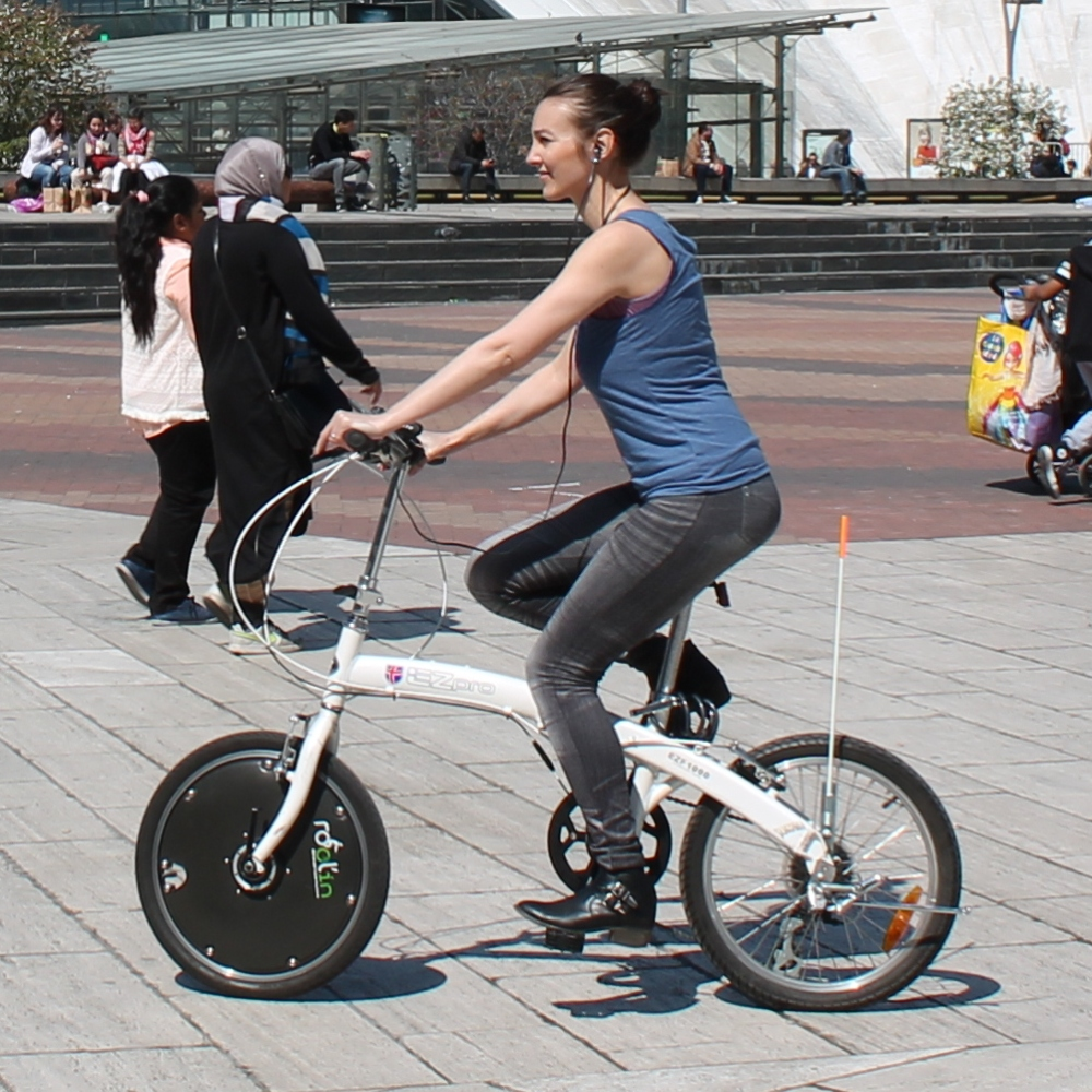 把自行车变成电动自行车,你只需要这个轮子。-唯轮网