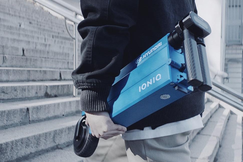 【CES2017】现代汽车IONIQ内置一台这小玩意-Wheelive唯轮网