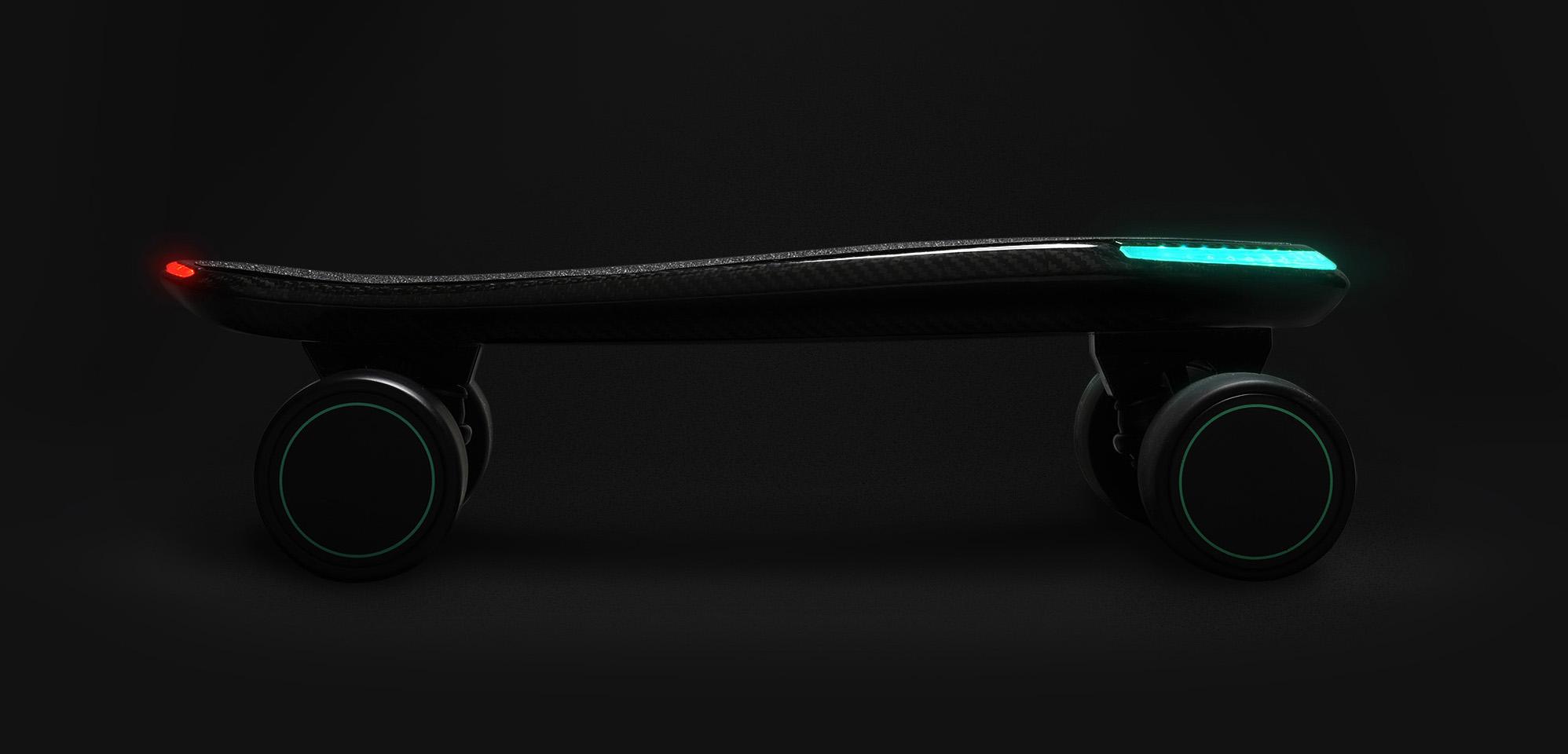 首款全球最小的3D体感滑板上市,要重新定义滑板?