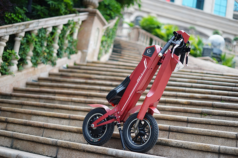 The AK1 from Chanson – the most innovative electric scooter so far-唯轮网