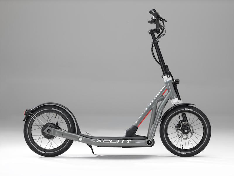 2万块的宝马?BMW Motorrad X2City电动滑板年底开售!
