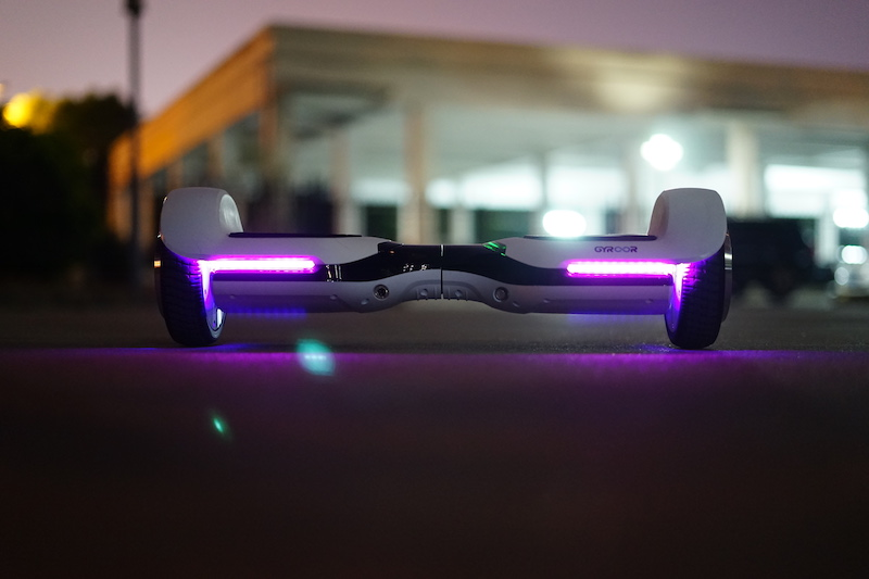 【Wheelive测评】疆游GYROOR雨燕G1平衡车,不仅有颜值!-唯轮网