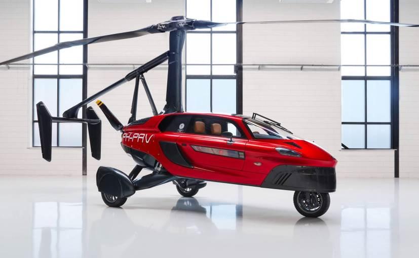 世界上首款正式量产的飞行汽车,首批全球限量90辆-唯轮网