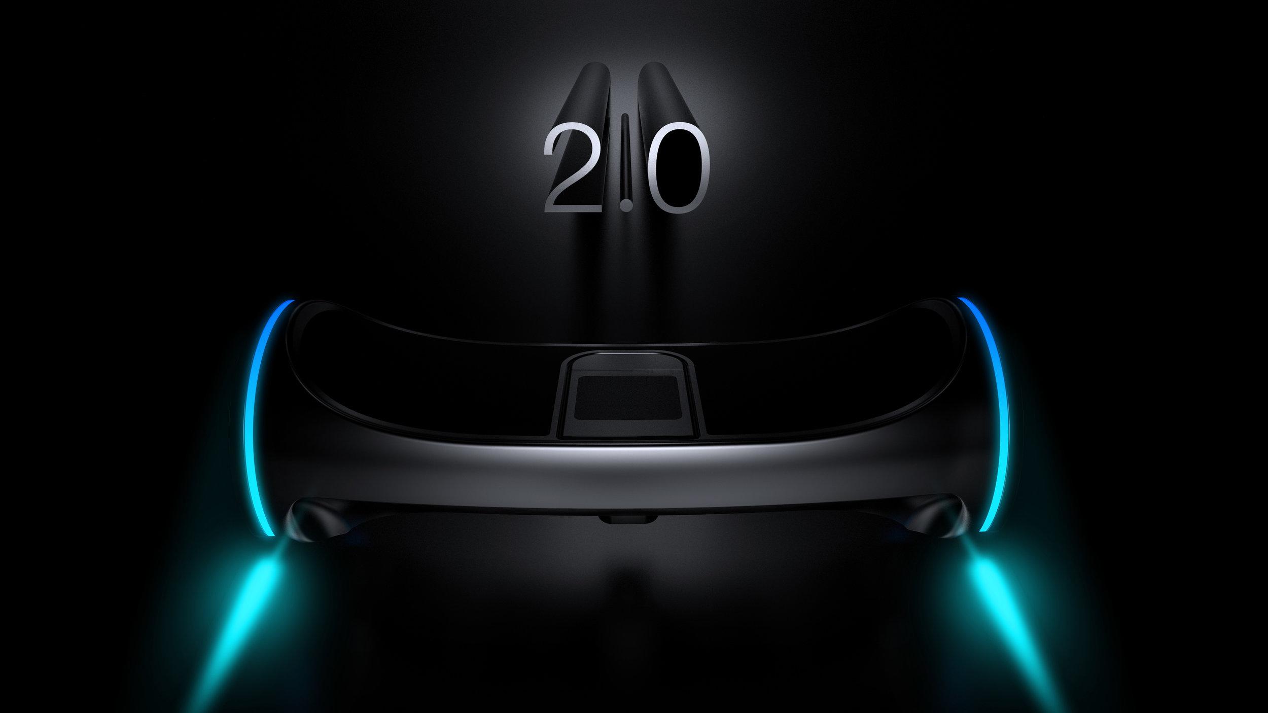 国外设计师设想的下一代平衡车概念,Hoverboard 2.0-唯轮网