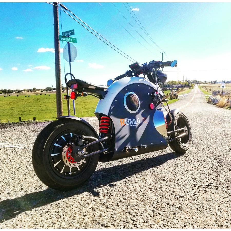 这辆踩油门自带发动机声音的摩托车,居然还是电动的?-唯轮网