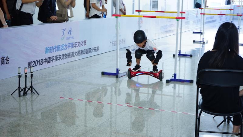 青岛国际公开赛现场,里面个个都是人才,小编超喜欢这里的-唯轮网