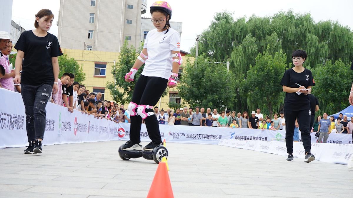 河北赛区现场采访,家长:平衡车能让孩子们放下手机-唯轮网