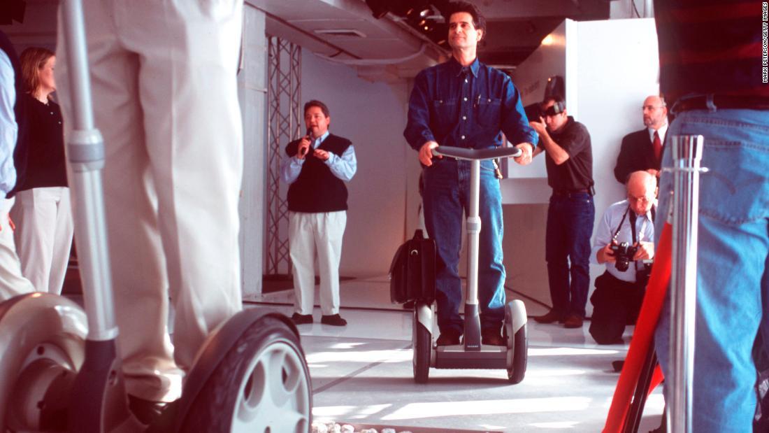 CNN:20年前segway本有望改变世界,现在也许还有机会-唯轮网