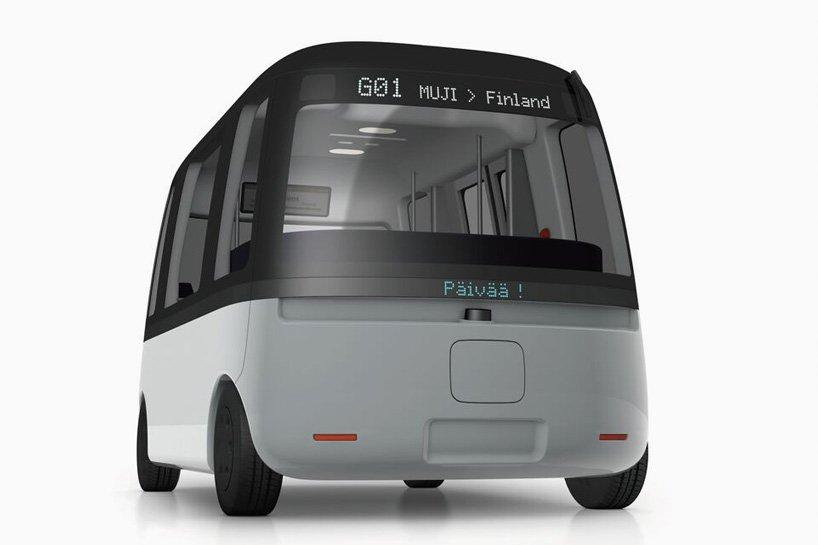 日本MUJI无印良品正在研发无人驾驶公交车-唯轮网