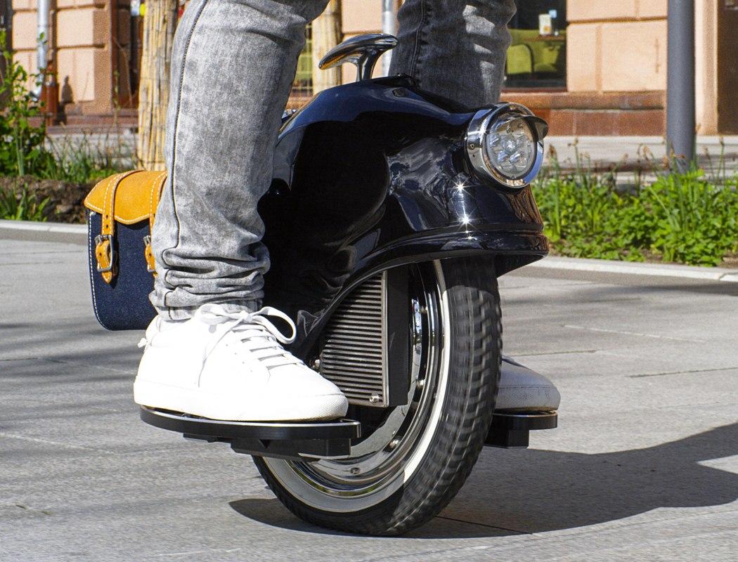 欧洲设计师打造的ESCIS复古风潮电动独轮车-唯轮网