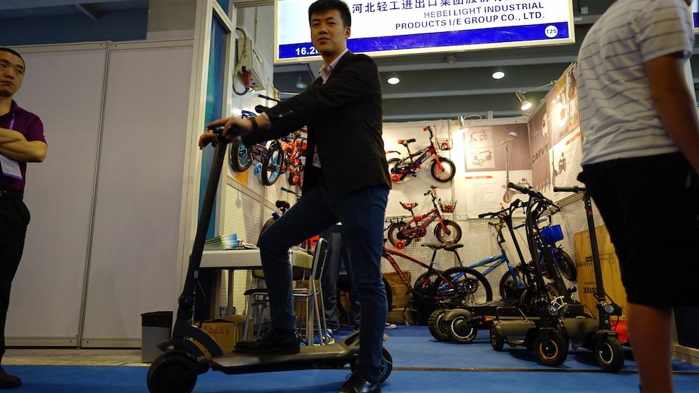 2019春季广交会,唯轮带你览尽智能代步展位-唯轮网