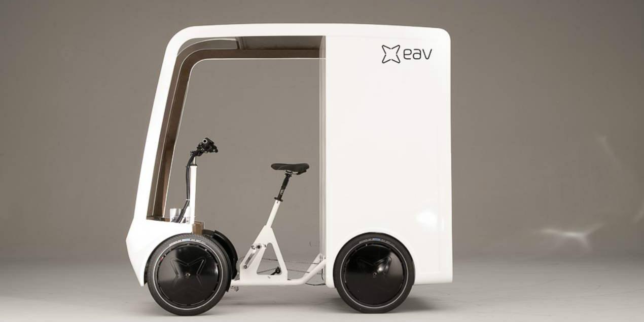 EAV推出与面包车同款的电动货运自行车EAVan-唯轮网