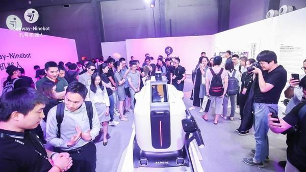 九号机器人AI产品发布会,带来三款新产品,中国终于也有自己的无人配送机器人了!-唯轮网