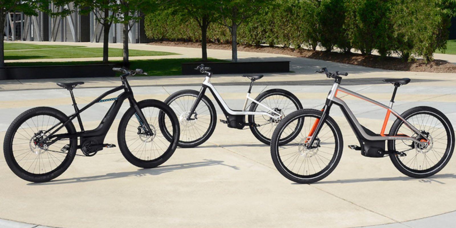 哈雷戴维森发布电动自行车概念,满满的摩托元素!-唯轮网