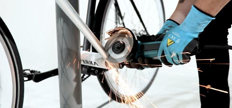 自行车锁这样设计,小偷看到都崩溃了!-唯轮网