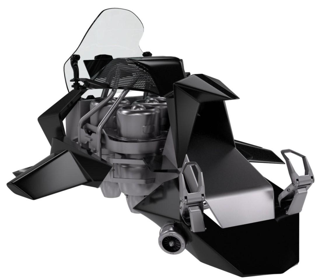 筹集200万美元,世界首款单人飞行摩托即将投入生产!-唯轮网