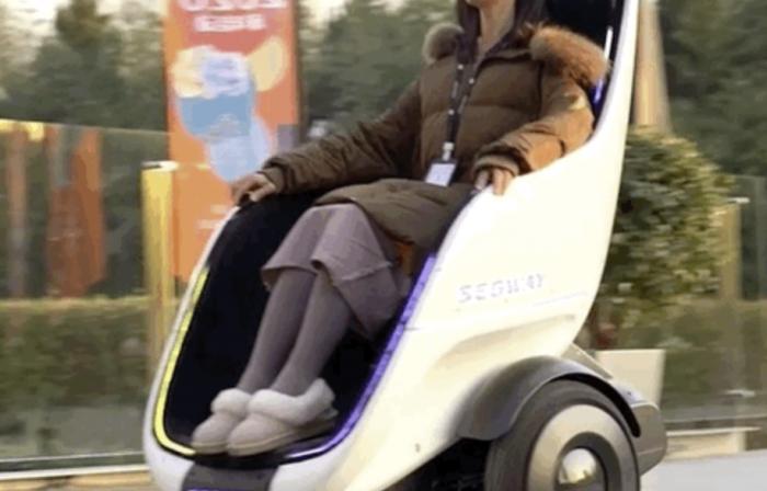 Segway-Ninebot携轮椅平衡车亮相CES:未来人类还要走路吗?-唯轮网