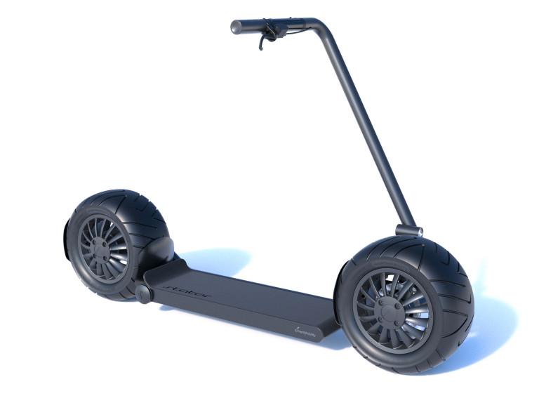 "Stator""巨型""电动滑板车公开发售,预购价仅需250美元-唯轮网"