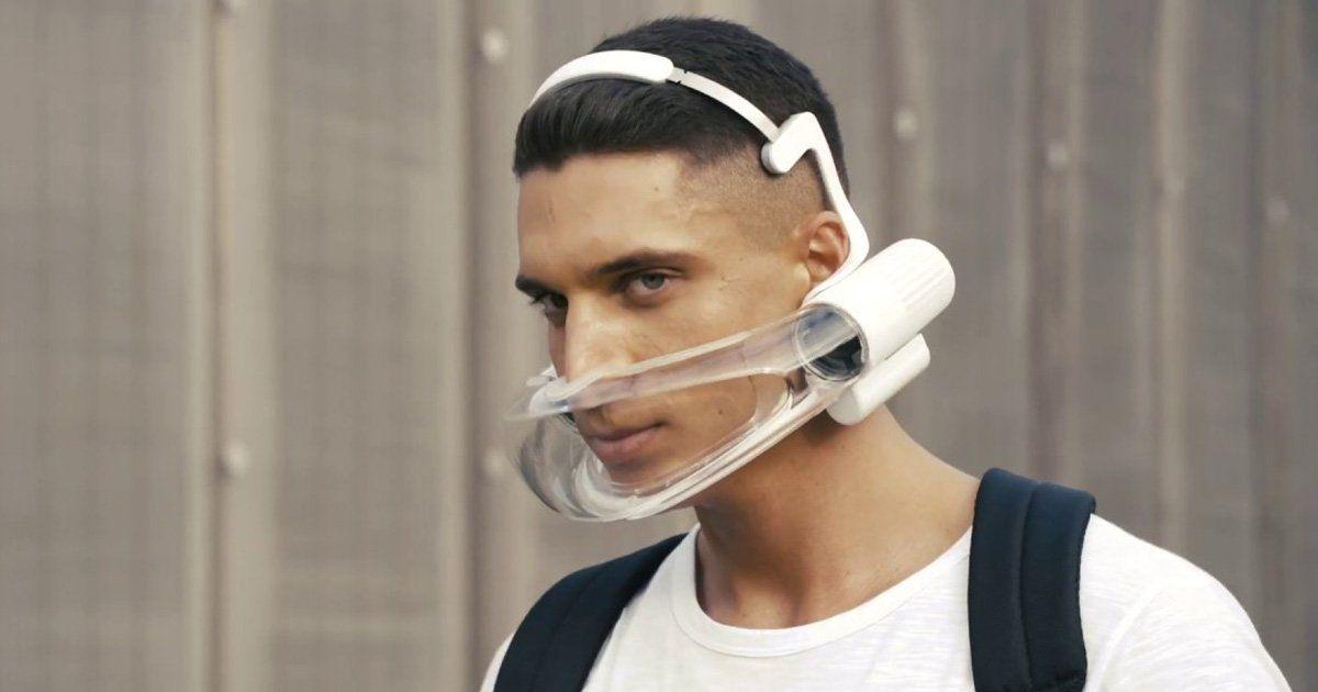 【出行科技】这是一款过滤效果强50倍的智能口罩-唯轮网