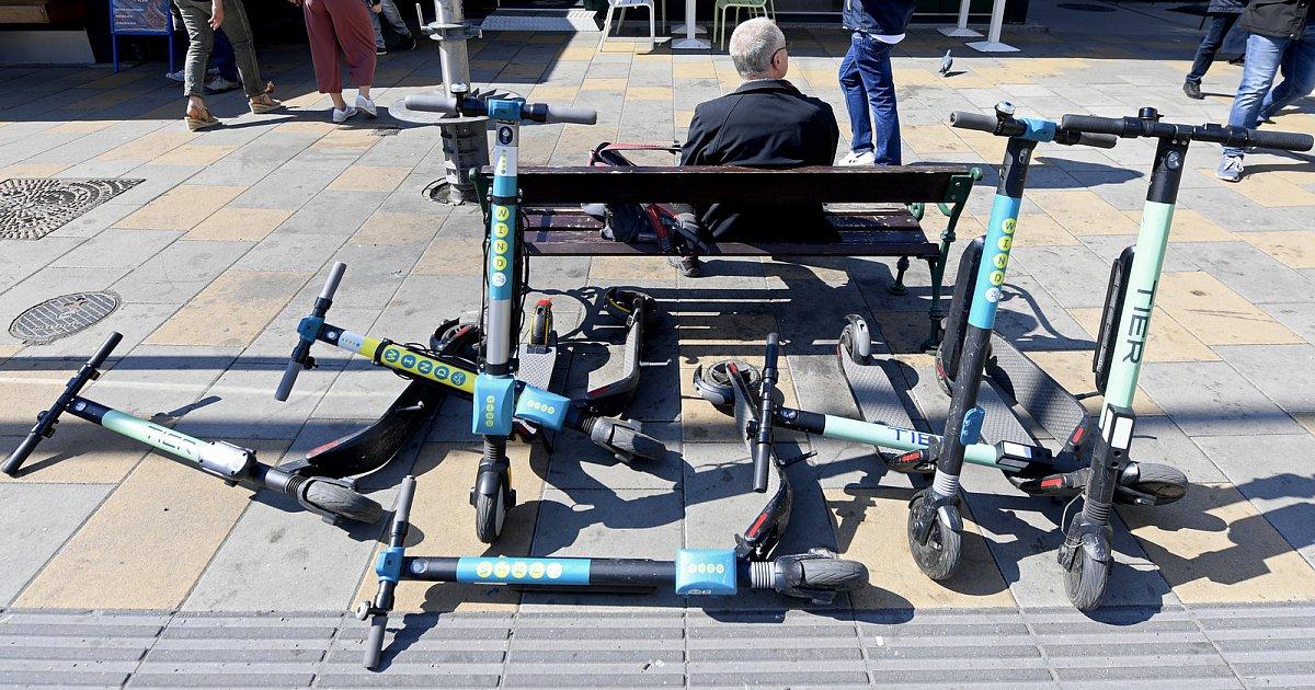 电动滑板车乱停放,残障人士出行受阻怎么办?-唯轮网