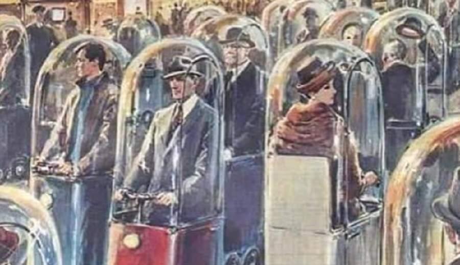 1962年设想的2022年的交通状况,有点意思-唯轮网
