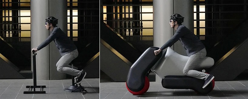充气工具玩上瘾了,这家公司又推出一款全身充气的代步车-唯轮网