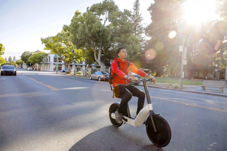 一台非常有未来感的电动自行车-唯轮网